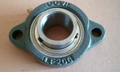 "TRITAN SBLF206-19G Flange Bearing,2-Bolt,Ball,1-3//16/"" Bore"