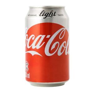 angebot original coca cola light 72 dosen je 0 33l xxl nur 36 55 ebay. Black Bedroom Furniture Sets. Home Design Ideas