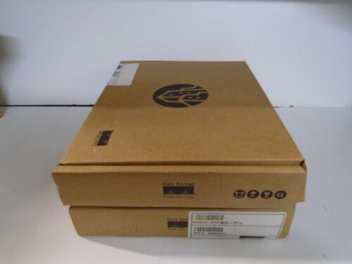 NEW Cisco WIC-2T NOB Dual Serial Port WAN Real time listing 2 year Warranty