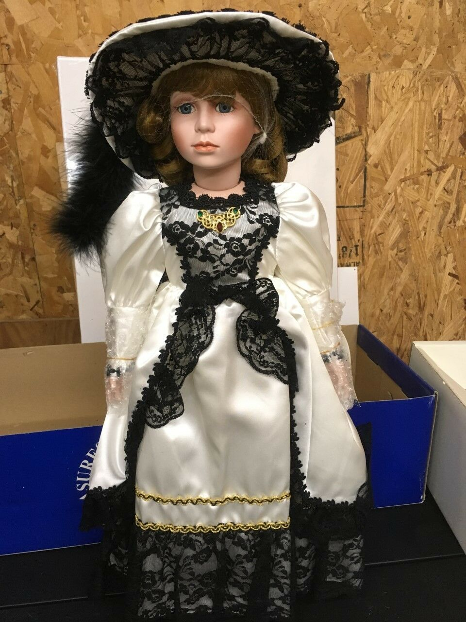 Rare, Vintage Treasures Forever Collection Porcelain  Jenica  Doll