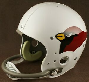 ec15ca0e Details about ST. LOUIS CARDINALS 1960-1982 NFL Authentic THROWBACK  Football Helmet