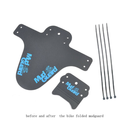 2 Pcs Bicycle Lightest MTB Mud Guards Tire Tyre Mudguard For Bike Fenders Tool