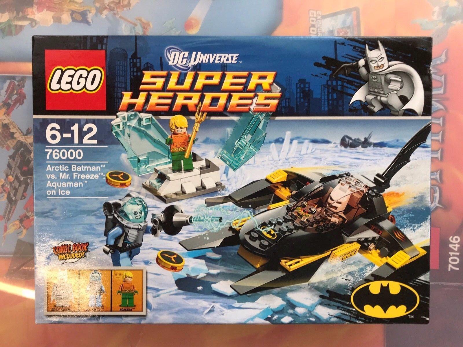 LEGO Super Heroes 76000  Arctic Batman Vs. Mr. Freeze Brand New