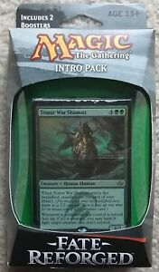 """FACTORY SEALED Fate Reforged /""""Stampeding Hordes/"""" BRAND NEW MTG Intro Pack"""