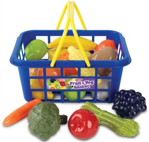 Casdon Petit Cabas Fruits /& Légumes Panier jouer nourriture bébé//enfants jouet BN