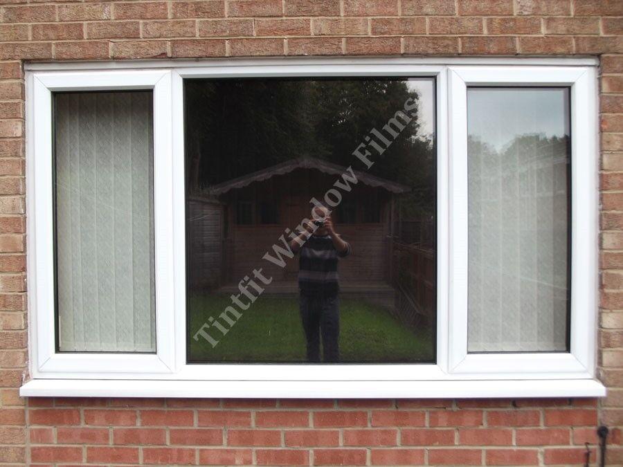 REFLECTIVE BRONZE 20 75cm x 5m - SOLAR MIRROR ONE WAY WINDOW PRIVACY TINT FILM