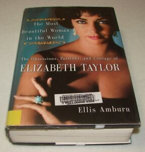 The-Most-Beautiful-Woman-in-the-World-by-Ellis-Amburn-Large-Print-Hardcover-DJ
