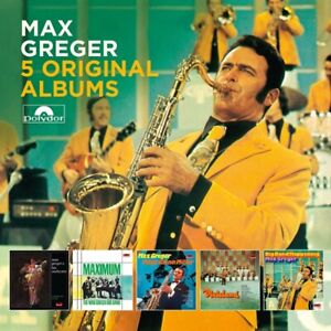 MAX-GREGER-5-ORIGINAL-ALBUMS-5-CD-NEW