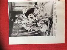 m2e ephemera 1950s film picture  cutting kazuo hasegawa machiko kyo
