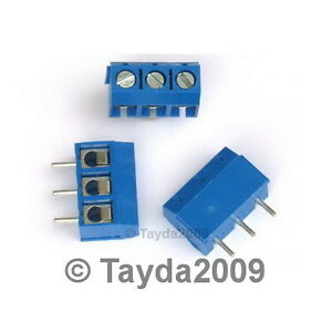 3-x-DG301-Screw-Terminal-Block-3-Positions-5mm-FREE-SHIPPING