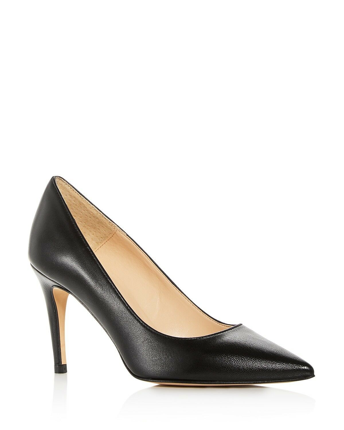 Bloomingdale's Women's Margo Italian Leather Pointed Toe Pumps Black Size