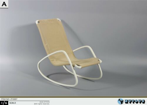 ZYTOYS ZY3007 1//6 Rocking Chair Model Deck Chair Figure Fit 12/'/' Doll