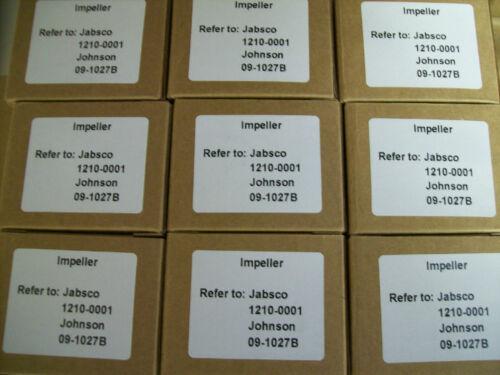 TWO Volvo Penta impellers 860203 3855546 3858256 3862281 21213660 876243 3862567