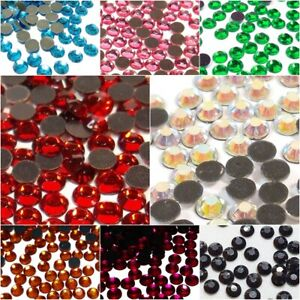 800-Hotfix-Strasssteine-2mm-SS6-Glas-Halb-Rund-Strass-Buegelsteine-8-Farben-399