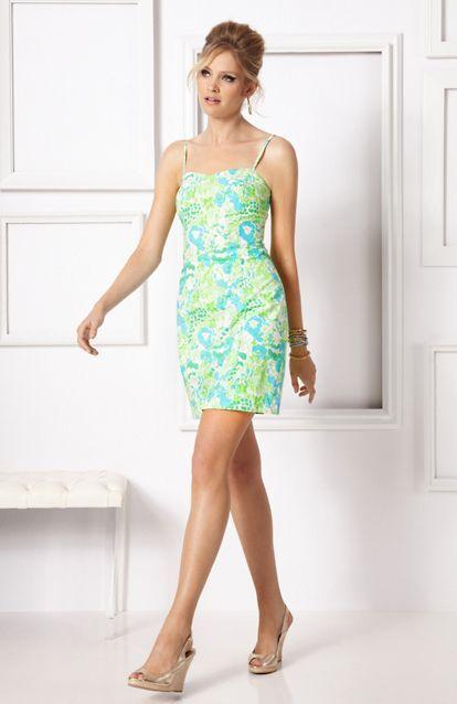 NWT  148 Lilly Pulitzer Mccallum Dress Limeade It's A Zoo Dress 6