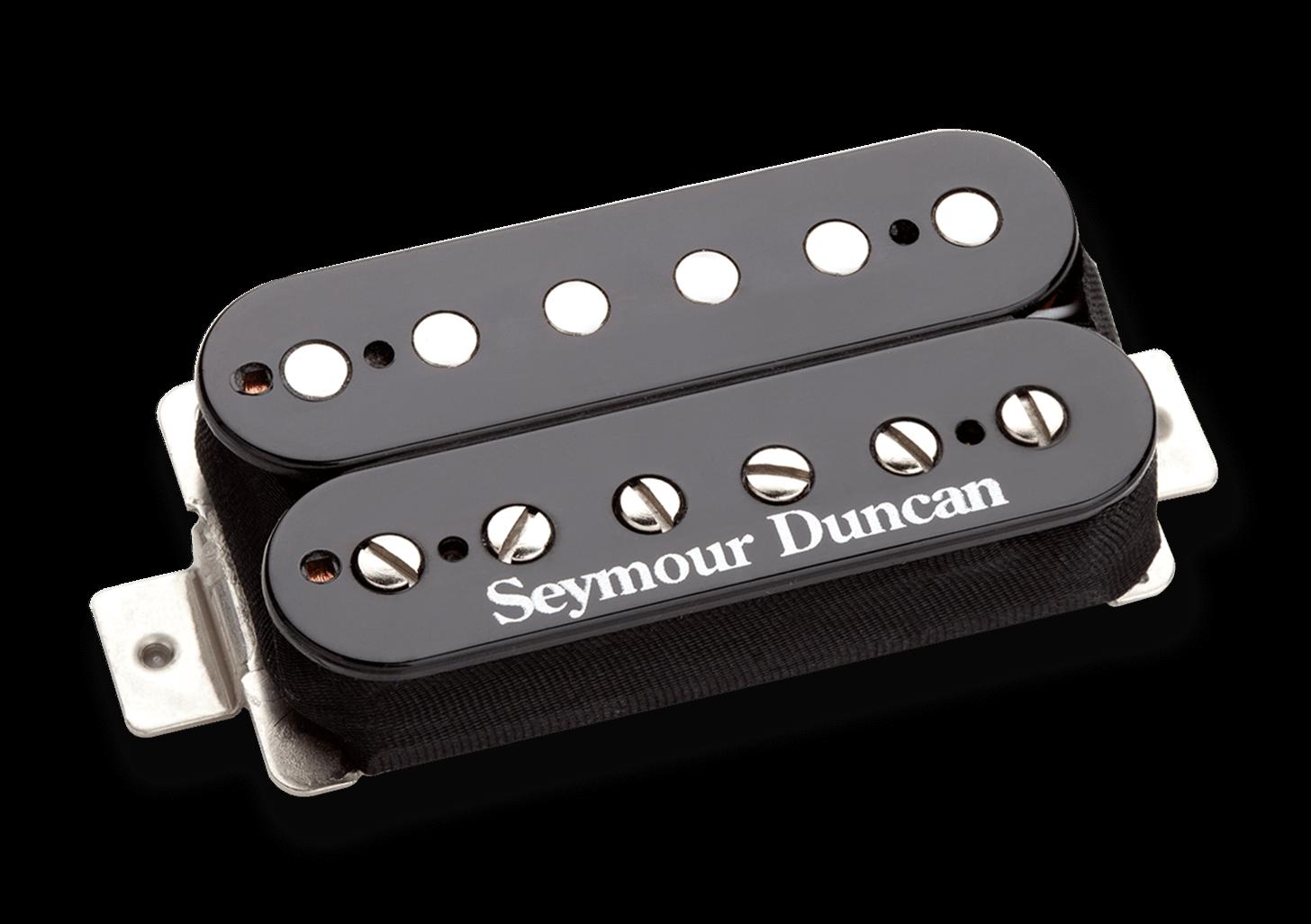 Neu Seymour Duncan Sh-6b Verzerrung 4-conductor Humbucker Steg-Pickup Schwarz