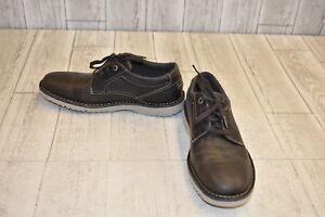 à bout Gris unis Taille Rockport foncé décontractées Cabot Chaussures 7w wqpnn4tB