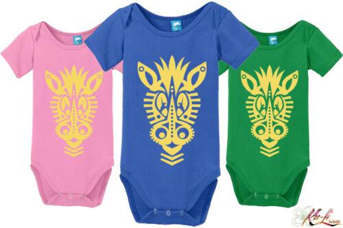 *NEW African Inspired Baby Onesie PUNDA pink blue green 6M 12M 18M Ku-Li Wear