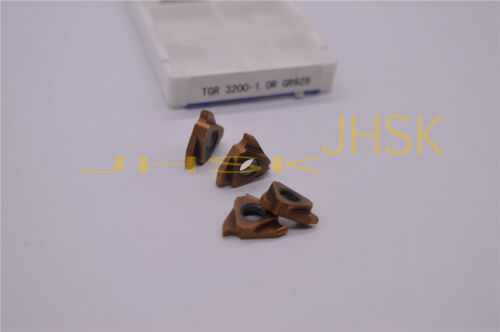10pcs TGR 3200-1.0R Round  Shallow slot cutting blade 2.0mm width For STGFR