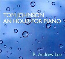 Tom Johnson: An Hour for Piano (CD, Oct-2010, Irritable Hedgehog)