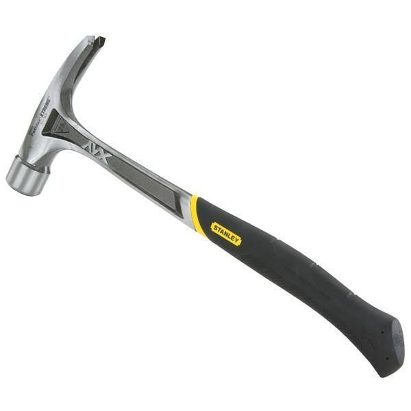 (2)-Stanley 22 Oz FatMax Milled-Face Rip Claw Antivibe Framing Hammer 51-167