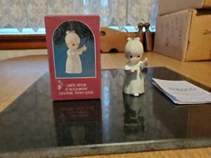 """Precious Moments 1990 """"Once Upon A Holy Night"""" Ornament #523852"""