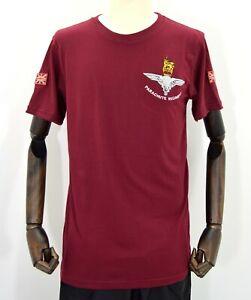 British-Army-Parachute-Regiment-Tshirt-Embroidered-T-Shirt-Para-Paratrooper