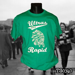 Details Zu Rapid Wien Ultras T Shirt