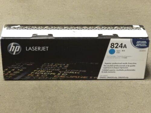 HP CB381A 824A Cyan Toner Cartridge LaserJet CP6015 Genuine New Open Box