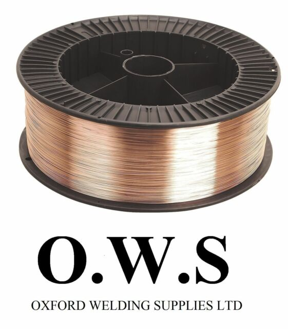 2 X Mild Steel Mig Wire Spool Reel 0.6mm Welding Gas 5kg SUPER 6 SWP