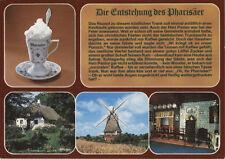 Alte Postkarte - Die Entstehung des Pharisäer