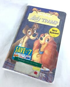 New Sealed Lady And The Tramp Vhs Disney A24 Ebay