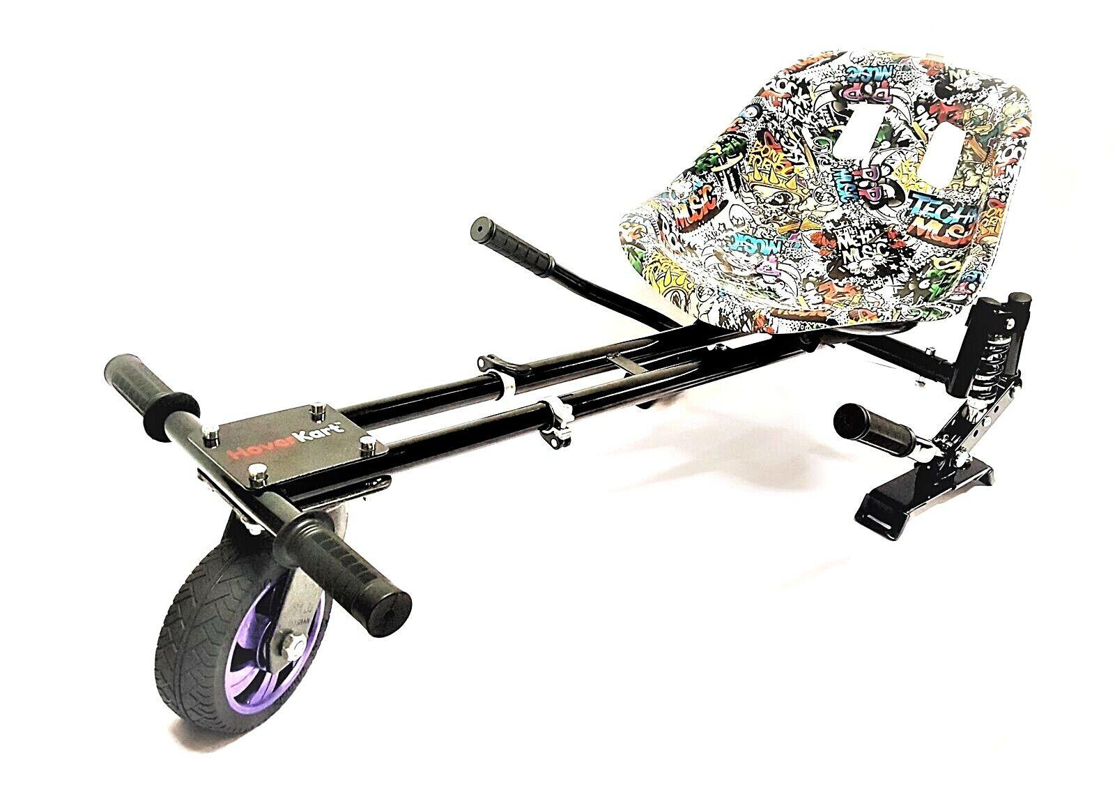 Musique Pop Suspension Original hoverkart convertir Hoverboard à Go Karts panier