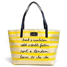 NWT Kate Spade Break A Resolution Coal Tote Shopper Handbag