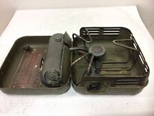 GERMAN MILITARY Enders 9061 Petrol Gas Camp Stove Vintage DATED 1963