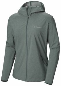 COLUMBIA-Heather-Canyon-WL1173337-Outdoor-SoftShell-Jacket-Hooded-Womens-New