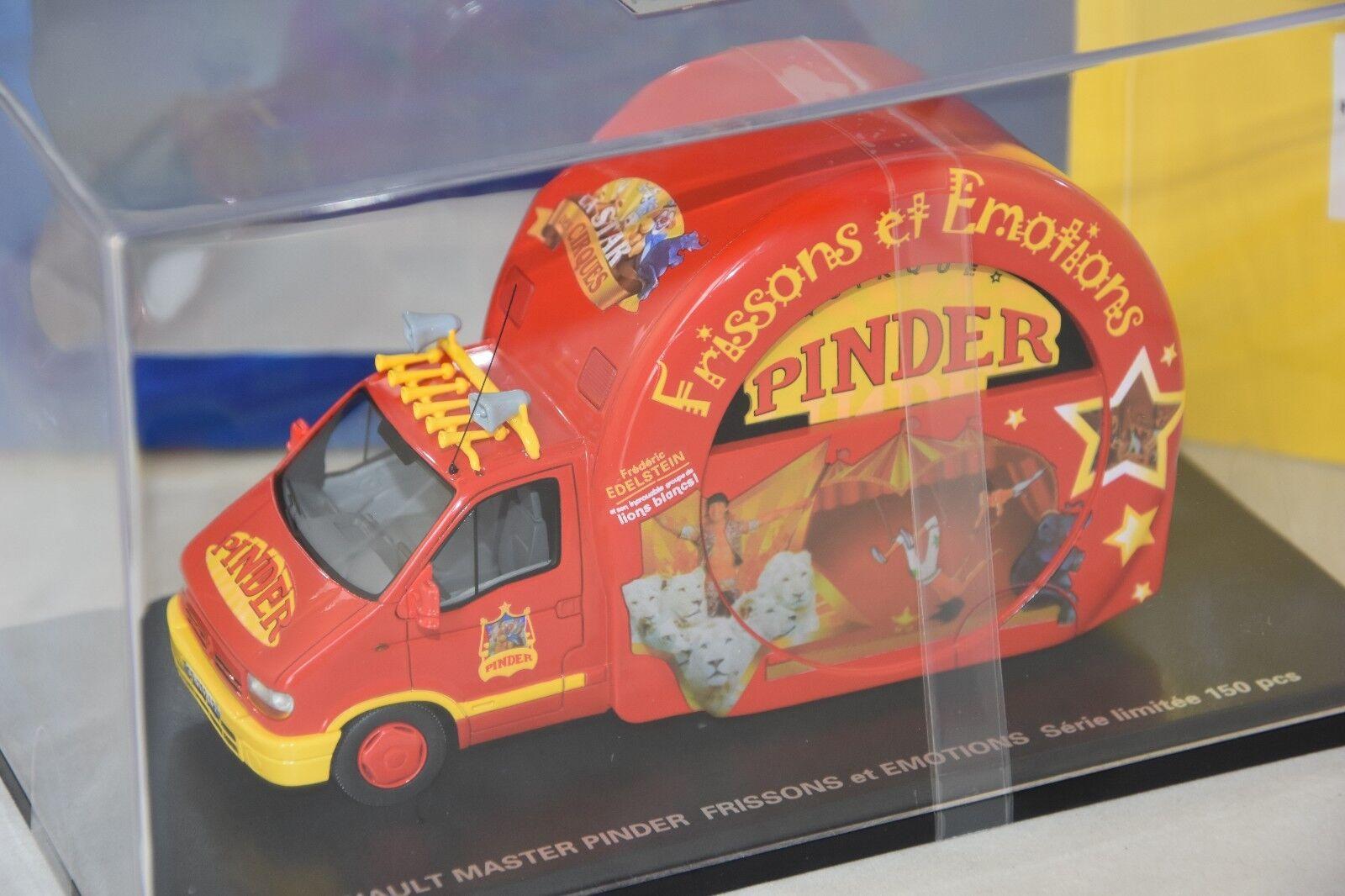 PERFEX 115PI  - RENAULT MASTER PINDER FRISSONS ET EMOTION 1997 1/43