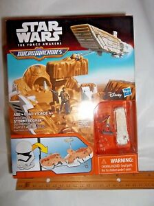 Star Wars The Force Awakens Micro Machines First Order Stormtrooper Playset