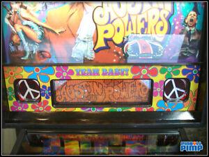 Stern Pinball AUSTIN POWERS - Speaker Panel DECAL - Yeah Baby!