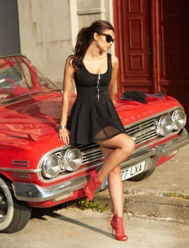BY ALINA Damenkleid Sommerkleid Partykleid Abendkleid Strandkleid 34-38 #A306