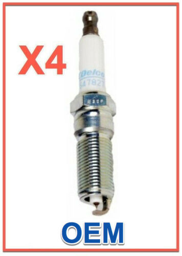 4 Spark Plugs ACDelco Pro Genuine GM OEM 41-125 Iridium