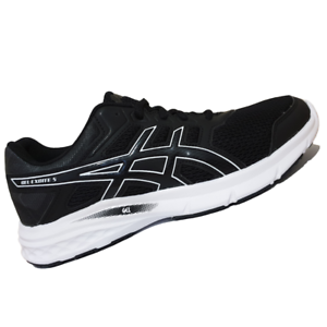 ASICS-WOMENS-Shoes-Gel-Excite-5-Black-Black-amp-White-T7F8N-9090