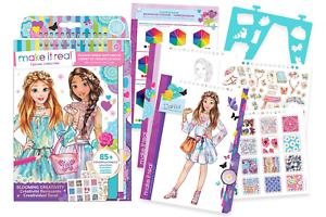 Make It Real Fashion Design Sketchbook Blooming Creativity Inspirational For 695929032029 Ebay