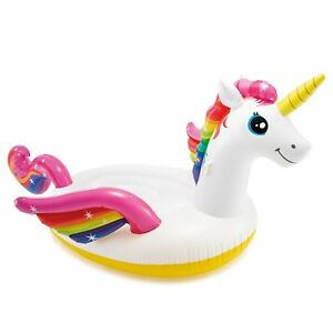 Intex-Giant-Inflatable-Magical-Mega-Unicorn-Island-Ride-On-Swimming-Pool-Float