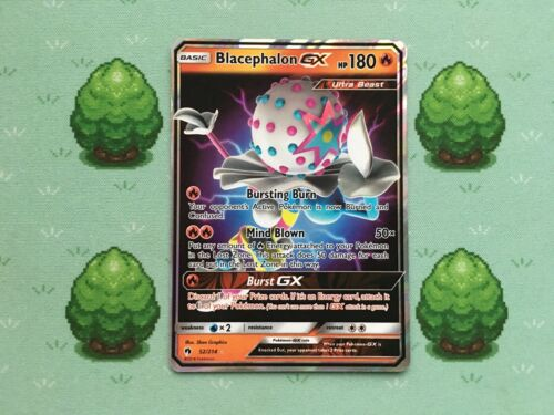 Pokemon Blacephalon GX 52//214 SM Lost Thunder Half Art