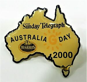 THE-SUNDAY-TELEGRAPH-AUSTRALIA-DAY-SYDNEY-OLYMPIC-GAMES-2000-PIN-COLLECT-989
