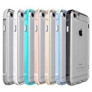 on sale a5fd1 120e6 Details about For Apple iPhone 6/7/8 Plus Transparent Clear Shockproof  Bumper Case