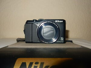 Impresionante-Nikon-Coolpix-S9900-16-7MP-Camara-Digital-Negro-Plata-Garantia