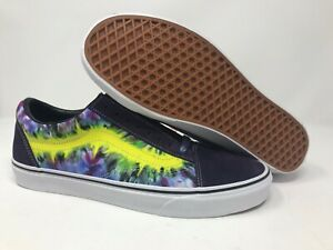 Details about Vans Old Skool Tie Dye MysteriosoTrue White Men's 12 Skate Shoes VN0A38G1VMO