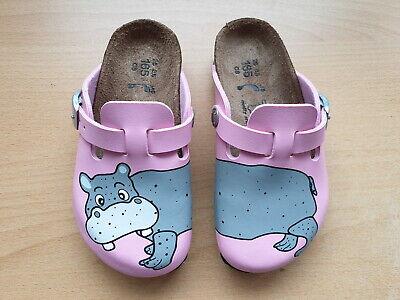 Birkis Woodby Clogs 26 Hippo pink Nilpferd rosa Hausschuhe Pantoffeln 114933 NEU | eBay